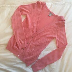 H&M Light Pink Cardigan